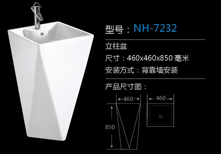 [Wash Basin Series] NH-7232 NH-7232